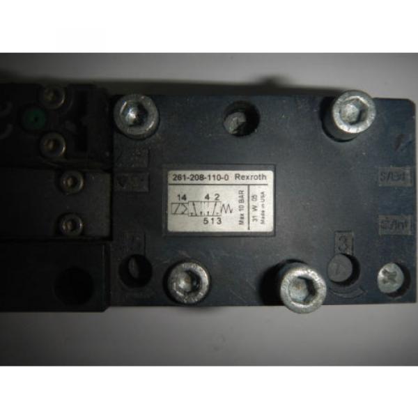 Rexroth 261-208-110-0 Pneumatic Valve #2 image
