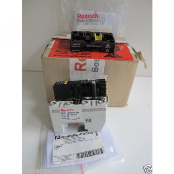 Rexroth R480084717A,  REXROTH R480 084 902 PNEUMATIC VALVE TERMINAL SYSTEM #1 image