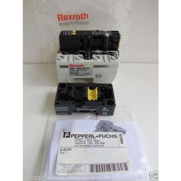 Rexroth R480084717A,  REXROTH R480 084 902 PNEUMATIC VALVE TERMINAL SYSTEM #4 image
