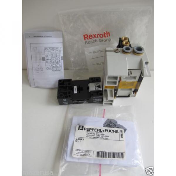 Rexroth R480084717A,  REXROTH R480 084 902 PNEUMATIC VALVE TERMINAL SYSTEM #5 image
