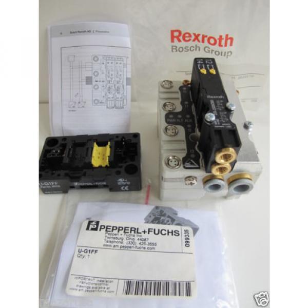 Rexroth R480084717A,  REXROTH R480 084 902 PNEUMATIC VALVE TERMINAL SYSTEM #6 image