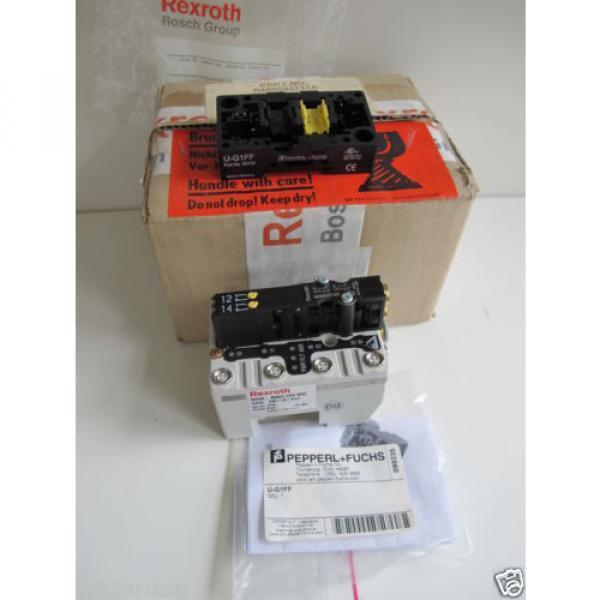 Rexroth R480084717A,  REXROTH R480 084 902 PNEUMATIC VALVE TERMINAL SYSTEM #9 image
