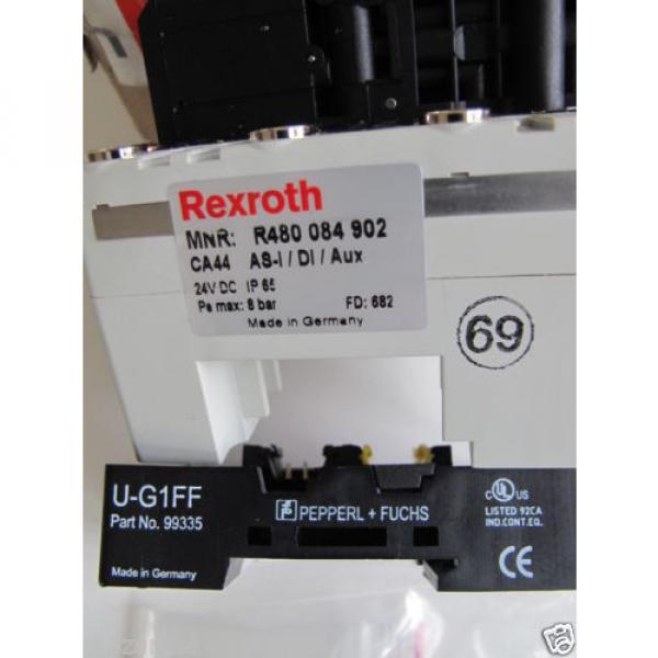 Rexroth R480084717A,  REXROTH R480 084 902 PNEUMATIC VALVE TERMINAL SYSTEM #10 image
