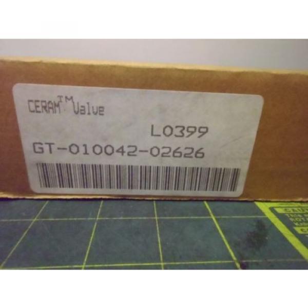 REXROTH GT010042-0626 CERAMIC PNEUMATIC PROPORTIONAL DIRECTIONAL VALVE # J54763 #4 image