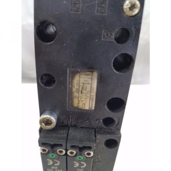 REXROTH BOSCH 261-209-120-0 PNEUMATIC SOLENOID ISO VALVE #6 image