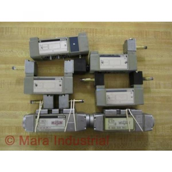 Rexroth Bosch Group Valves Valve For Parts Or Repair Pack of 6 - Used #1 image