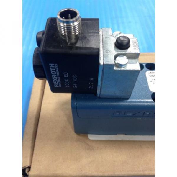 REXROTH R432006425 PNEUMATIC SOLENOID VALVE GT-10061-00440 150 MAX PSI Origin A1 #5 image