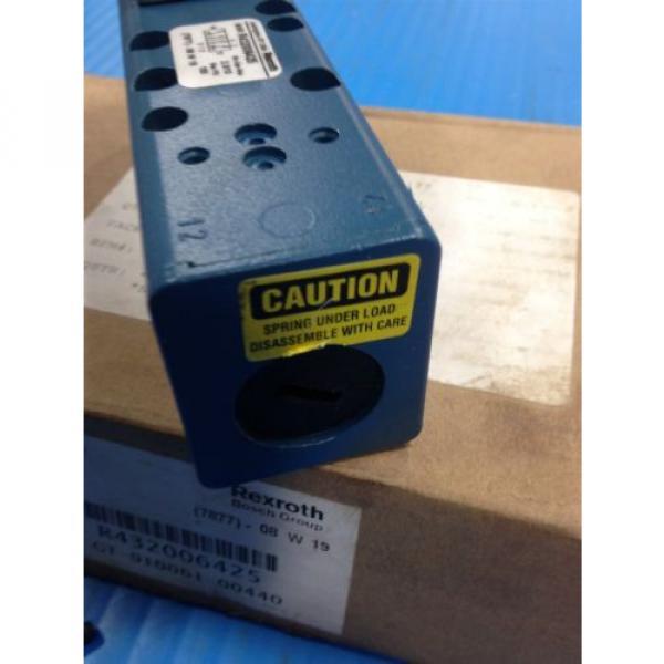 REXROTH R432006425 PNEUMATIC SOLENOID VALVE GT-10061-00440 150 MAX PSI Origin A1 #6 image