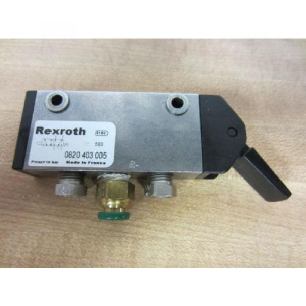 Rexroth Bosch Group 0820403005 Manually Operated Level Valve - Used #1 image