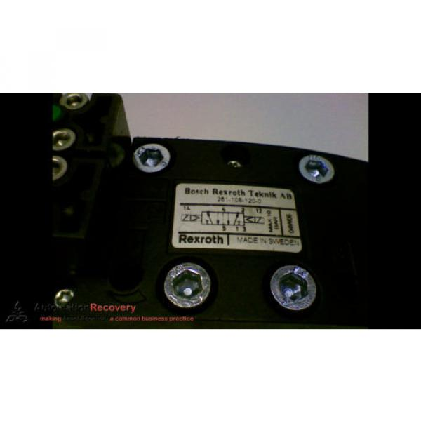 BOSCH REXROTH 261-108-120-0 HYDRAULIC VALVE 2 POSITION ISO SIZE 1, Origin #153092 #3 image