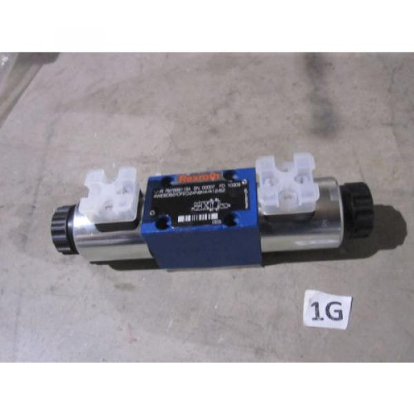 REXROTH HYDRAULICS DIRECTIONAL CONTROL VALVE 4WE6D6X/OFEG24N9K4/A12/62 #1 image