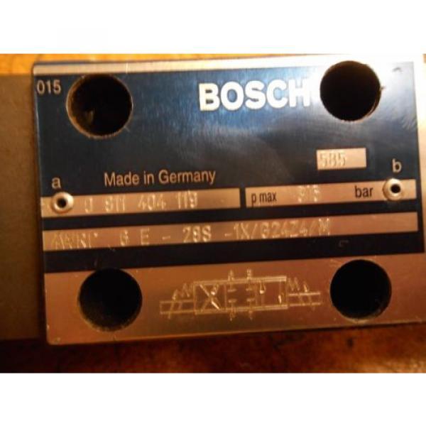 Bosch 0811404119 4WRP 6E-28S-1X/G24Z4/M Valve W/ 0831006057 Coil 9VDC 2,45A #2 image