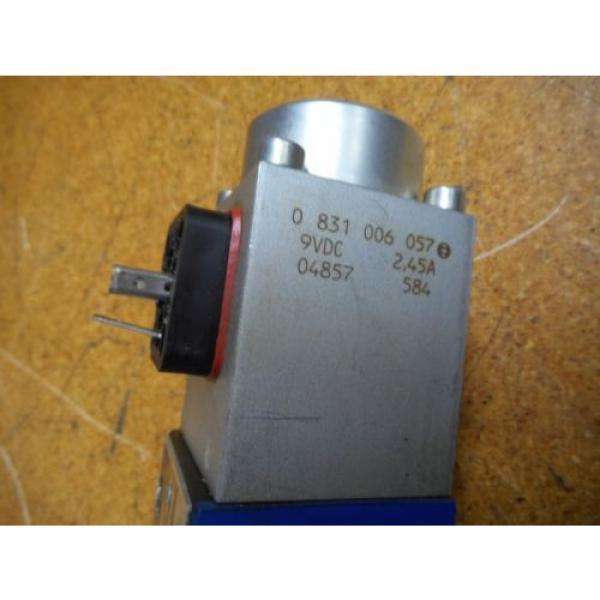 Bosch 0811404119 4WRP 6E-28S-1X/G24Z4/M Valve W/ 0831006057 Coil 9VDC 2,45A #4 image