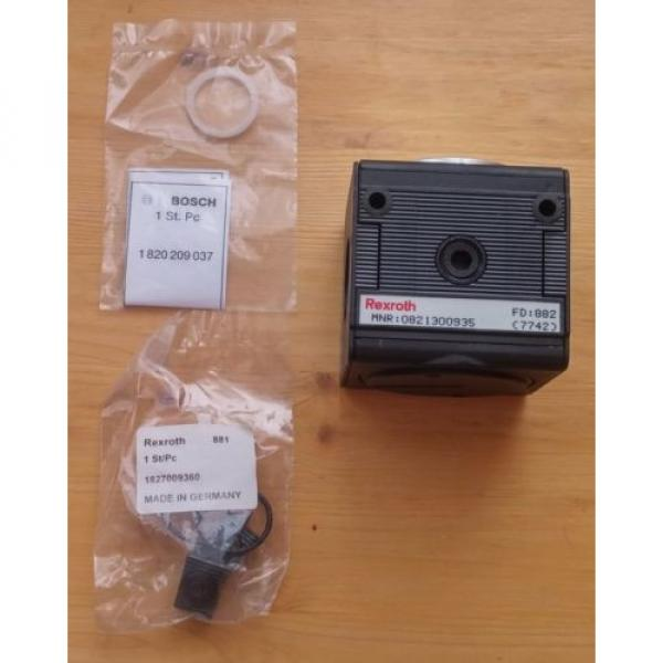 Origin REXROTH Shut off valve  R404030182 0821300935 Tetra 90113-0374 #1 image