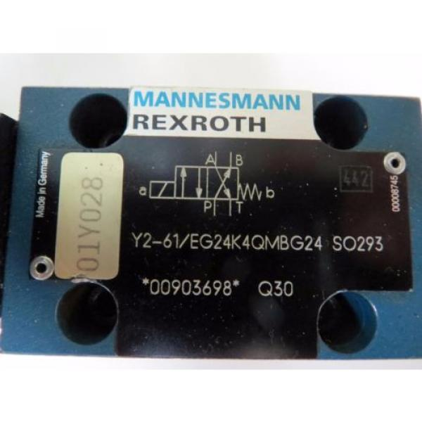 Mannesmann Rexroth 4WE6 Y2-61/EG24K4QMBG24 SO293 Spool Valve Position Monitoring #5 image
