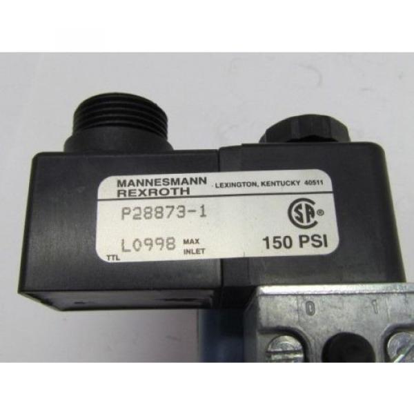 Rexroth Ceram GS-020061-00540 110VAC Pneumatic Solenoid Valve #8 image