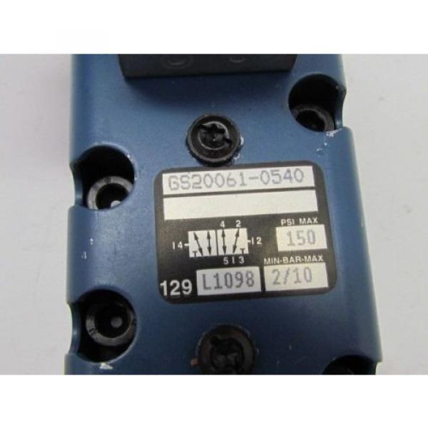 Rexroth Ceram GS-020061-00540 110VAC Pneumatic Solenoid Valve #9 image