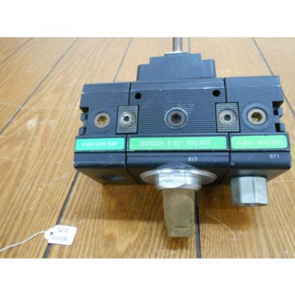 Bosch 0821300932 Solenoid Valve 3/2 Way with Two 821300930 Distributor Blocks #2 image