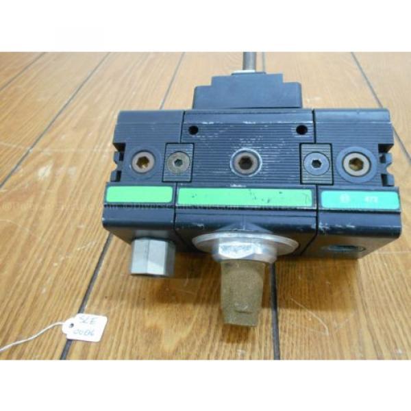 Bosch 0821300932 Solenoid Valve 3/2 Way with Two 821300930 Distributor Blocks #3 image