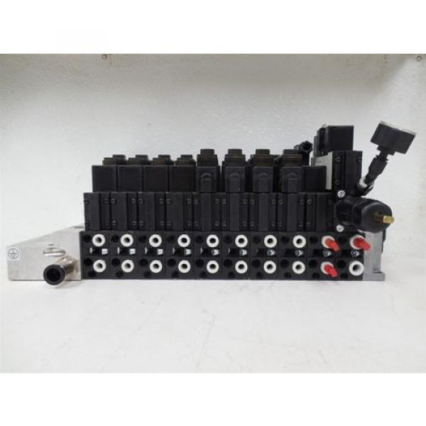 USED Rexroth R480229625 CD26-PL Pneumatic Valve Bank Module 5763510 #1 image