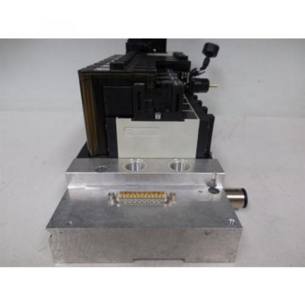 USED Rexroth R480229625 CD26-PL Pneumatic Valve Bank Module 5763510 #4 image