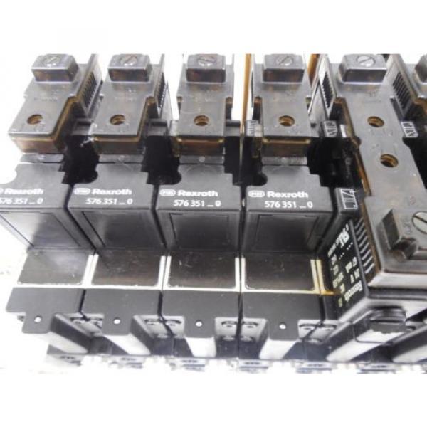 USED Rexroth R480229625 CD26-PL Pneumatic Valve Bank Module 5763510 #6 image