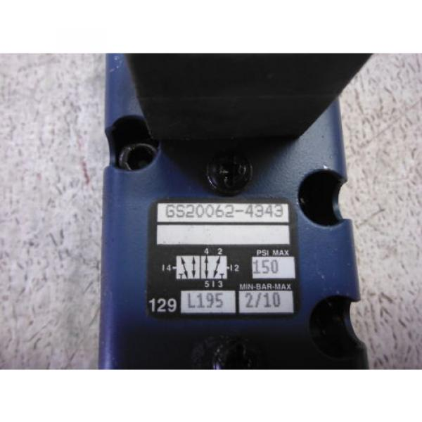 REXROTH GS20062-4343 DIRECTIONAL VALVE USED #2 image
