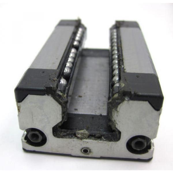 BOSCH REXROTH LINEAR RUNNER BLOCK R162289420 w/ REXROTH GUIDE RAIL, LENGTH 654mm #3 image