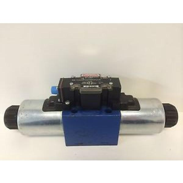 GUARANTEED REXROTH HYDRAULIC SOLENOID VALVE 4WE10D-40/OFCG24N9DK24L2 SO43A-1348 #1 image