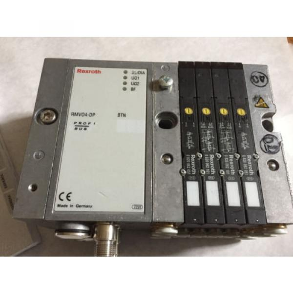 Origin REXROTH RMV04-DP,REXROTH 0820062051,0820062101 VALVE SYSTEM amp; MANUAL ,BOXYS #2 image