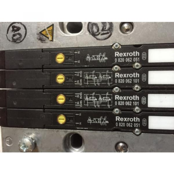 Origin REXROTH RMV04-DP,REXROTH 0820062051,0820062101 VALVE SYSTEM amp; MANUAL ,BOXYS #3 image