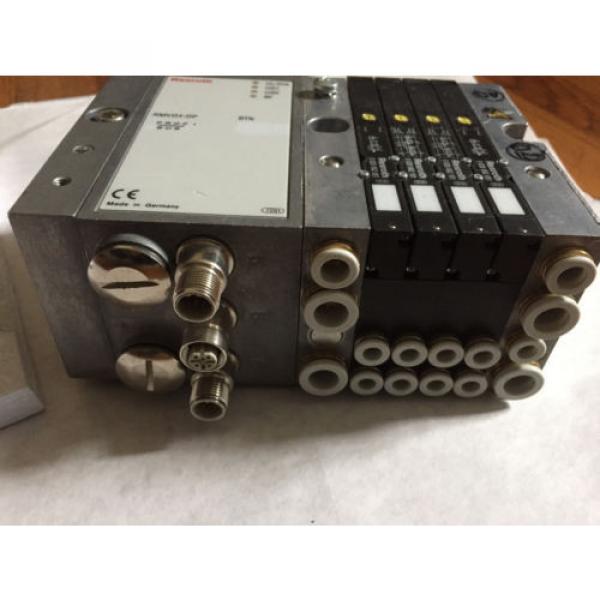 Origin REXROTH RMV04-DP,REXROTH 0820062051,0820062101 VALVE SYSTEM amp; MANUAL ,BOXYS #4 image