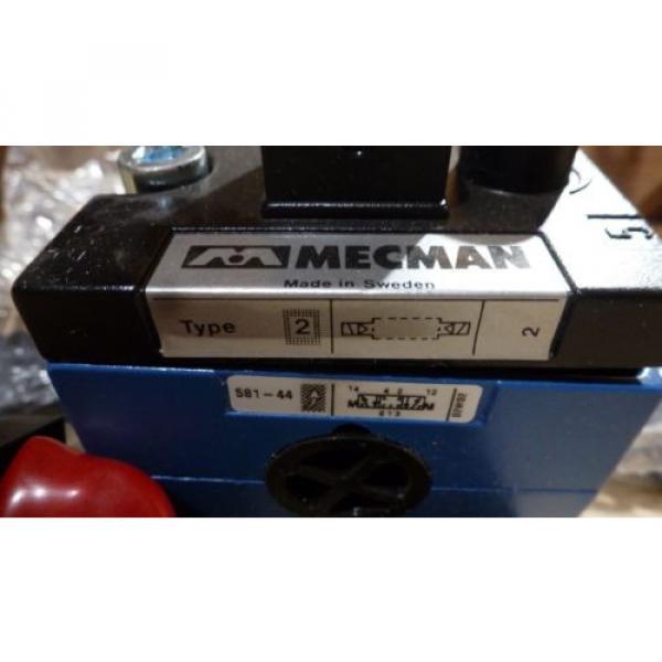 Rexroth Mecman 581-442-131-2, Solenoid Valve, 110VAC origin old stock #4 image