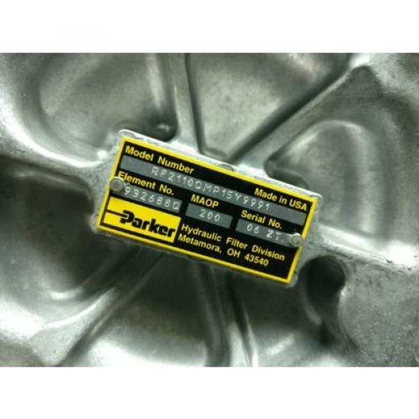 Origin RF2 PARKER RF2110QMP15Y9991 Hydraulic Filter Valve REXROTH BOSCH VICKERS #8 image