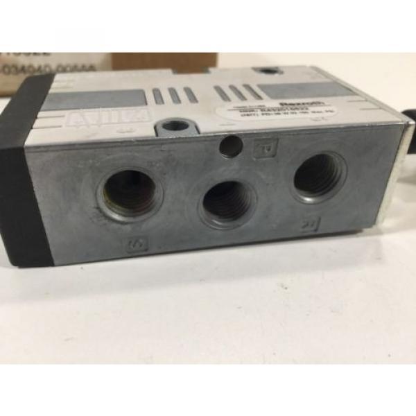 Rexroth R432016622 Manual Air Control Valve 4-Way 5 Ports 2 Position #3 image