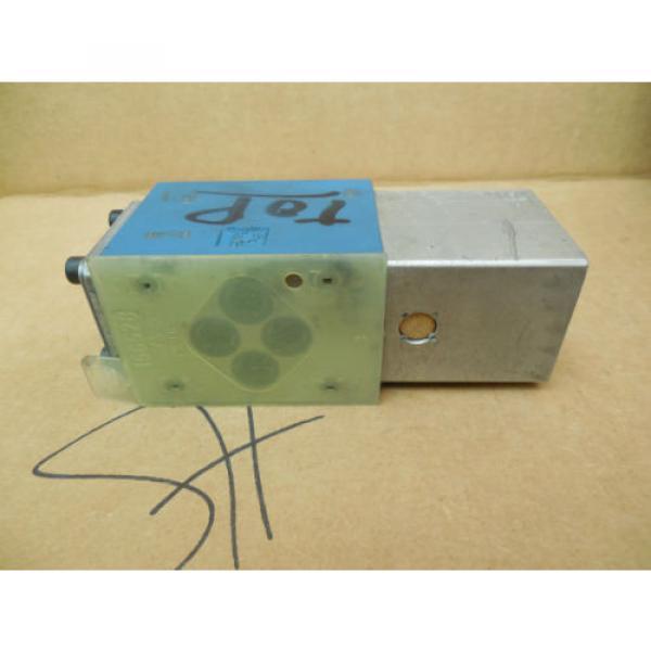 Mannesmann Rexroth Solenoid Valve 4WP6C52/N/5 4WP6C52N5 RR00885051 Used #3 image