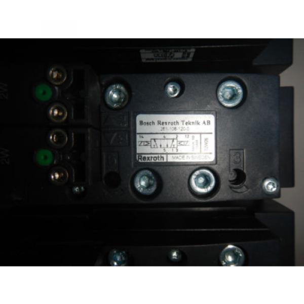Rexroth 261-108-120-0 6 Valve Unit Pneumatic Valve #2 image