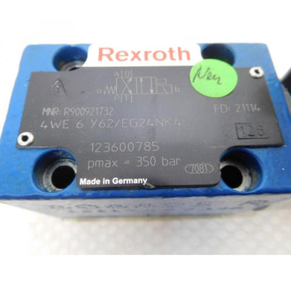 Rexroth 4WE 6 Y62/EG24NK4, R900921732, Directional control valve 4/2 unused #2 image