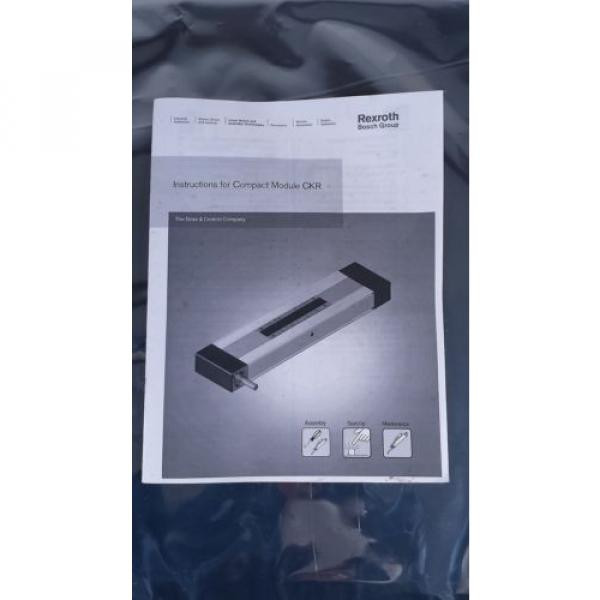 BOSCH REXROTH CKR 12-90  R036430000 COMPACT MODULE CKR LINEAR ACTUATOR #4 image