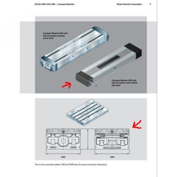 BOSCH REXROTH CKR 12-90  R036430000 COMPACT MODULE CKR LINEAR ACTUATOR #5 image