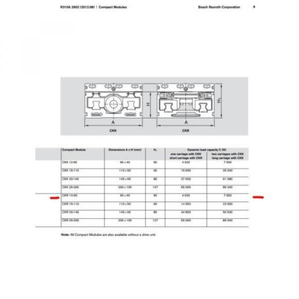 BOSCH REXROTH CKR 12-90  R036430000 COMPACT MODULE CKR LINEAR ACTUATOR #6 image