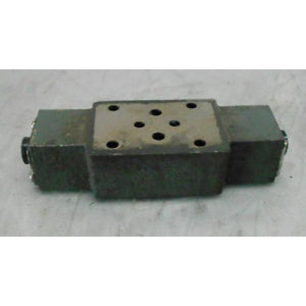 Uchida-Rexroth Hydro Norma Z2FS 6-31 Solenoid Check Valve Base Block, Used #1 image