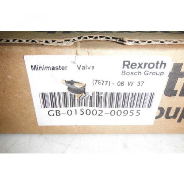 REXROTH GB-015002-00955   MINIMASTER  VALVE  Origin #3 image
