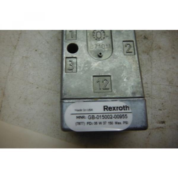 REXROTH GB-015002-00955   MINIMASTER  VALVE  Origin #4 image