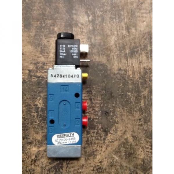 Rexroth Minimastrer Control  Valve GC-15100-02455 #3 image