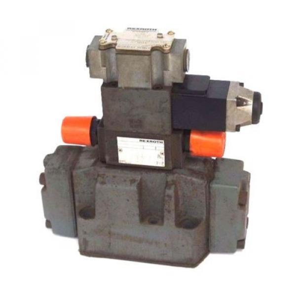 REXROTH 4WEH16J60/6AW120-60NETS2 VALVE W/ Z2FS-6-2-41-10V amp; 4WE6J52/AW120-60 #1 image