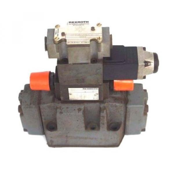 REXROTH 4WEH16J60/6AW120-60NETS2 VALVE W/ Z2FS-6-2-41-10V amp; 4WE6J52/AW120-60 #2 image