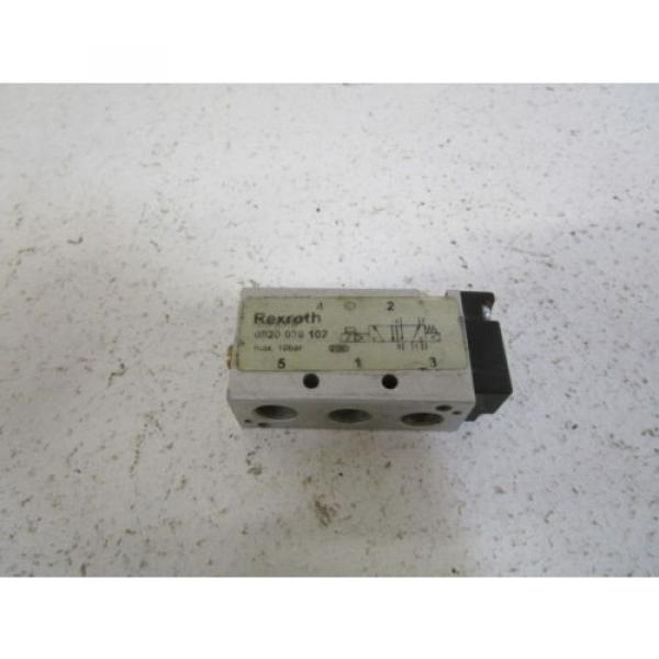 REXROTH VALVE 0820 038 102 AS PICTURED USED #1 image