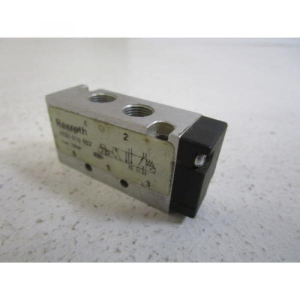 REXROTH VALVE 0820 038 102 AS PICTURED USED #4 image