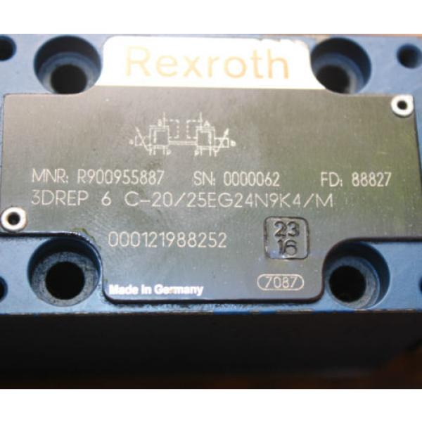 REXROTH 3DREP 6 C-20/25EG24N9K4/M Solenoid Operated Directional VALVE #3 image